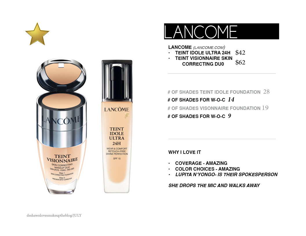 15 foundations for women of color aj crimmson cosmetics lancome nvjuhfo Image collections