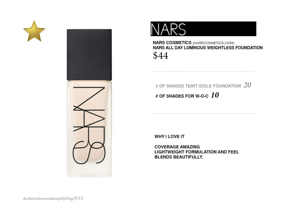 NARS new